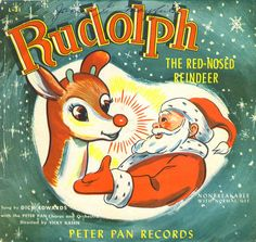Dick Edwards - Rudolph The Red-Nosed Reindeer (Peter Pan Records)