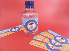 Etiquetas para tus botellas de agua... inspiradas en Toy Story