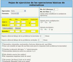 http://lacasetaeliastormo.blogspot.com.es/2013/11/generador-de-fitxes-matematiques.html  La CASETA, un lloc especial: Generador de fitxes matemàtiques