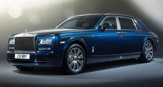 2017 Rolls-Royce Wraith exterior, side view, headlights