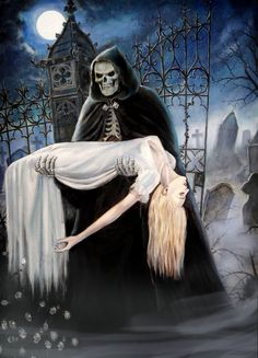 Reaper's bride longer by dashinvaine.deviantart.com on @deviantART