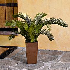 Artificial Cycas Palm with Planter