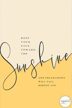 Keep your face toward the sunshine, Iphone Wallpaper, Iphone home- lock screen Combo,