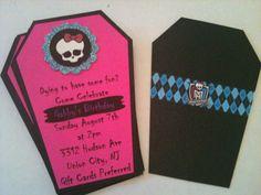 Monster High Invite