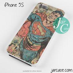 Superman Comic Art Phone case for iPhone 4/4s/5/5c/5s/6/6 plus