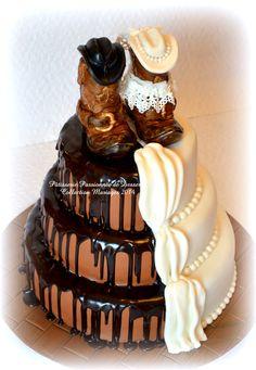 sur Gâteaux De Mariage Country sur Pinterest  Gâteaux De Mariage De ...