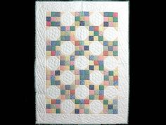 Snowball Quilt -- superb adeptly made Amish Quilts from Lancaster (wh2484)
