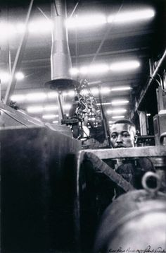 Robert Frank  'Ford River Rouge Plant'  1955  gelatin silver print  © Robert Frank. Detroit Institute of Arts.