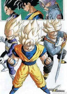 Dragon Ball Z - Super Saiyans
