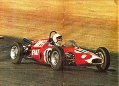 1966 Carlos Reutemann, De Tomaso-Fiat 1500
