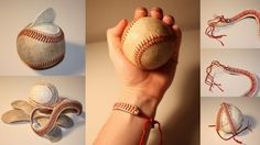 baseball bracelets - I need to make one for my son-in-law