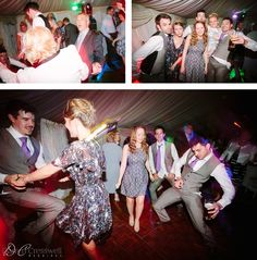 Langley Priory Wedding party
