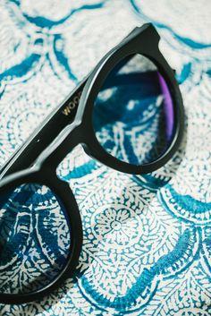 68e706c5d8 Woodzee Cara - Wooden Sunglasses - Round Sunglasses - Mirrored Lens  Sunglasses. Black Sunglasses
