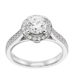 so pretty  Engagement Rings | Ornate | Salon Engagement Ring