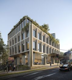 Flinders on Behance Concept Board Architecture, Hotel Design Architecture, University Architecture, Retail Architecture, Study Architecture, Commercial Architecture, Townhouse Exterior, Building Skin, Retail Facade