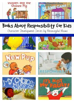 Books About Responsibility for Kids - Character Development Series - Meaningful…