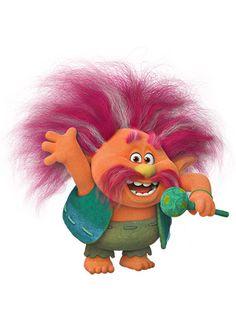 Розовый король - персонаж мультфильма «Тролли» (Trolls)
