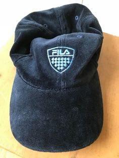 218a150388e Fila Elastic Fit Velour Hat. Terrific Condition!  fashion  clothing  shoes