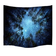 Roslynwood Forest Starry Tapestry Wall Tapestry Wall Hanging Galaxy Tapestry Hippie Milky Way Tapestry Sky Tapestry Tree Tapestry Night Sky Tapestry Mandala Bohemian Tapestry for Bedroom Dorm Decor Tapestry Nature, Tree Tapestry, Tapestry Bedroom, Bohemian Tapestry, Mandala Tapestry, Tapestry Wall Hanging, Colorful Tapestry, Tapestry Beach, Hippie Bohemian