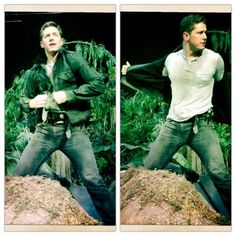 Ginnifer Goodwin on Twitter: Magic Mike, meet Jumpin' Josh Flash. #OnceUponATime #Season3 #21Days Josh Dallas pic.twitter.com/W9LwmnTv65
