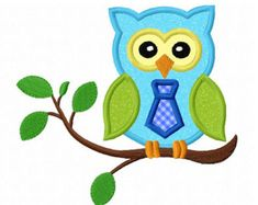 Instant Download Sleeping Girl Owl On Branch by JoyousEmbroidery