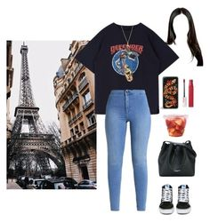 """""""THE RIGHT WAY BBAY ///❤"""" by rauhlslut ❤ liked on Polyvore featuring Prada, Vans, Lancaster and Maybelline"""