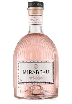 Our Rosé Gin is made with our beautifully scented grape alcohol extraction, and inspired by the botanicals and world-famous perfume trade in Provence Whiskey Cocktails, Wine Drinks, Alcoholic Drinks, Beverages, Alcohol Bottles, Liquor Bottles, Crown Royal Drinks, Perfect Martini, Peach Drinks