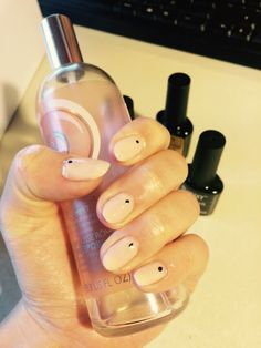 Bluesky nude nails