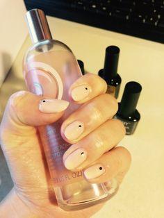 Bluesky nude nails