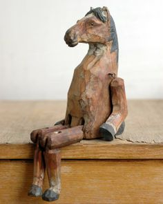 wooden horse. from my collection