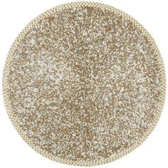 Beaded Placemat - Gold & Ivory