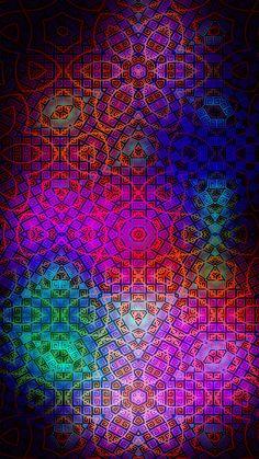 Neon Wallpaper, Heart Wallpaper, Cellphone Wallpaper, Cartoon Wallpaper, Wallpaper Backgrounds, Colorful Backgrounds, Iphone Wallpapers, Fractal Art, Fractals