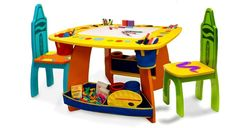 10 Adorable Kid's Table and Chair Sets
