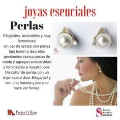 Nuestra experta en joyas y accesorios, Lorena Sanabria, nos habla de las piezas esenciales en nuestro joyero