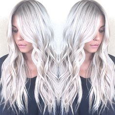 Hello gorgeous | icy blonde by @hairbybrittanyy