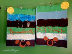 One Mom and a Blog: We're Going on a Bear Hunt Craft