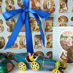 Children's Gift Wrap by Rachel Goodchild