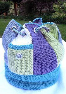 Side Stripes backpack.  $6.00 for pattern 7/14.