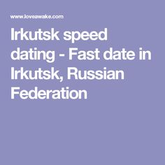 Fast dating chat