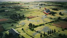 Sven Kroner, Oil on canvas. Contemporary Art.