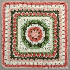 MamaMellie's Fountain of Roses ~ free pattern ᛡ