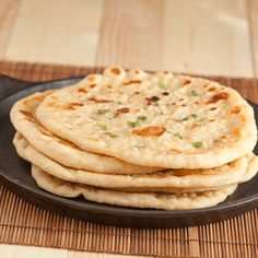 Grilled Flatbread Like Naan -- I think I like the looks of this one!