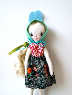 Small cloth doll, Holly