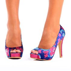fef195e0d9 IRON FIST MIDNIGHT BLACKLIGHT Iron Fist Heels, Hot Shoes, Blue Shoes, Shoes  Heels
