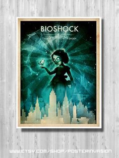 BioShock Little Sister poster BioShock Infinite by PosterInvasion