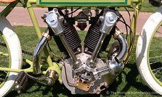 1919 Excelsior Model X Antique Motorcycle