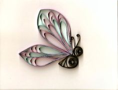 .paper quilled butterfly