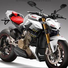New Ducati designed. Ducati Streetfighter S, Ducati 1299 Panigale, Ducati Motorbike, Motos Yamaha, Moto Ducati, Yamaha Bikes, Moto Bike, Motorcycle Bike, Concept Motorcycles