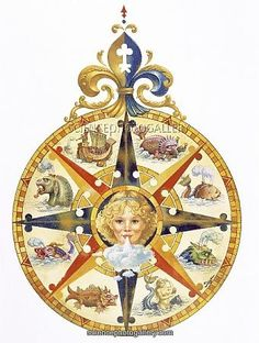 Image result for Early 16th-Century Portuguese Compass Roses