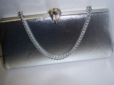 Vintage Silver Clutch Purse by SylviasFinds on Etsy, $10.00
